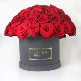 bouquet de rose rond